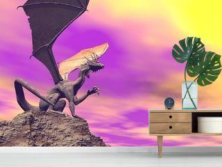 Quiet dragon - 3D render