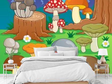 Mushroom theme image 4