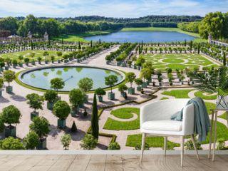 L'Orangerie garden in Versailles. Paris, France