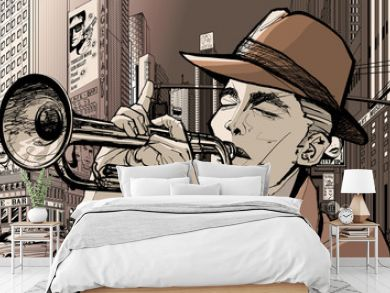 trumpeter in new-york