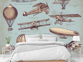 vector set: aviation