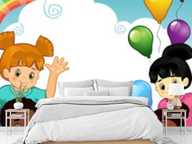 Bambini arcobaleno insieme-Rainbow Children together