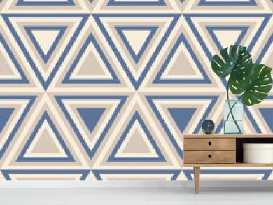 Fashion abstract pattern with  triangles