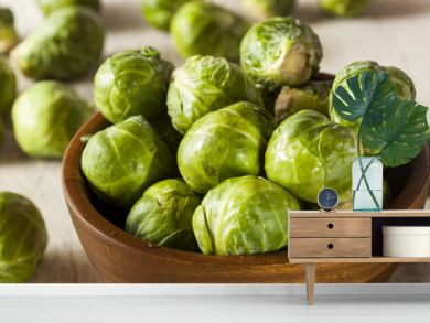 Organic Green Brussel Sprouts