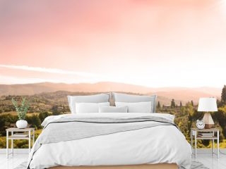 beautiful tuscan landscape