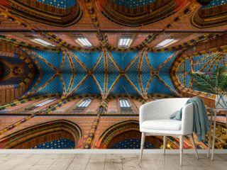 Krakau, St Mary's Church, the Ceiling
