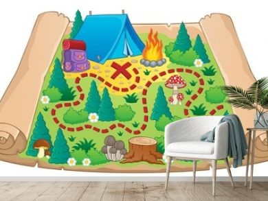 Camping theme map image 2