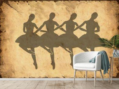 Retroplakat - Ballett