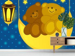 Love bears on the moon