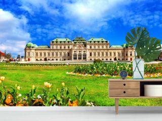 beautiful Belvedere castle, Vienna, Austria