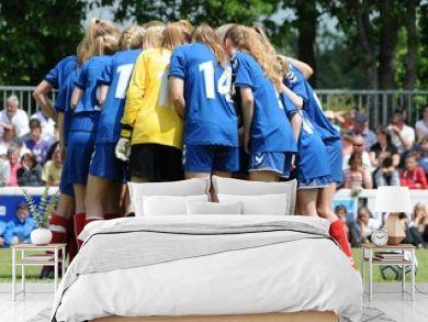 football au féminin au Mondial Pupille en Bretagne Finistère