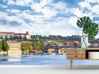 Panoramic view of Prague, Czech Republic.