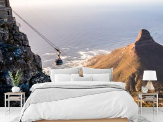 Table Mount Cable Car in Cape Town South Africa