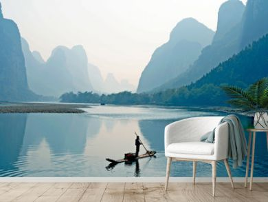the Guilin Scenery