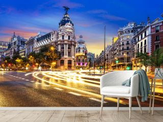 Madrid city center, Gran Vis Spain