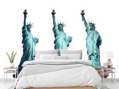 statue of liberty - New York - freigestellt