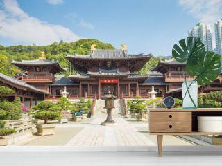 Chi Lin Nunnery in Diamond Hill, Kowloon, Hong Kong.