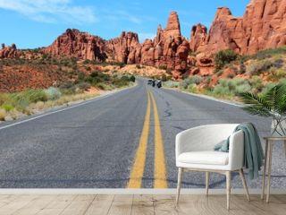 Arches Scenic Drive, Utah, USA