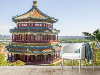 Summer Palace Pagoda Beijing China