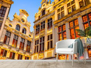 Grand Place night, Bruxelles, Belgium