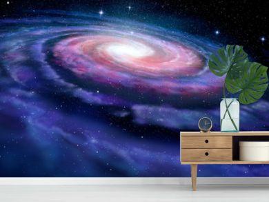 Spiral galaxy, illustration of Milky Way