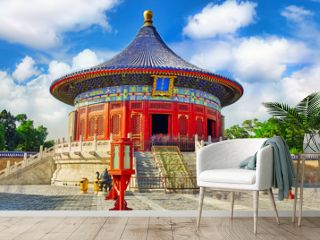 The Imperial Vault of Heaven in the complex Temple of Heaven in