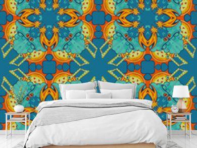 colorful abstract mandala shapes 7