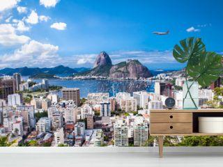 Rio De Janeiro and Sugar Loaf, Brazil .
