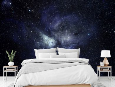 Blue space background