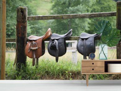 Three saddles