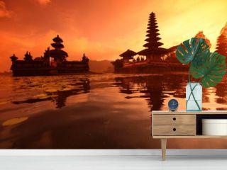 ASIA INDONESIA BALI LAKE BRATAN PURA ULUN DANU TEMPLE