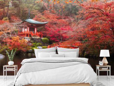 Daigo-ji temple in autumn