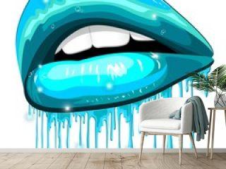 Lips Aqua Color Water Lipstick