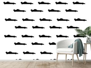f1 car silhouette background