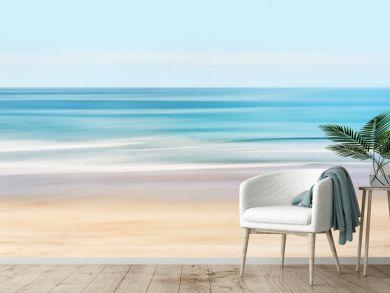 Hi-Key Abstract Seascape