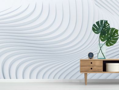 Wave band abstract background surface