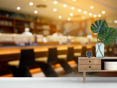 cafe restaurant japanese style and sushi bar