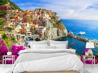 Colors of Italy series -Manarola village , Cinque terre