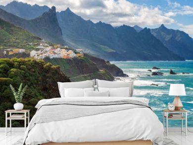 Coastal village in Tenerife Canary Islands Spain