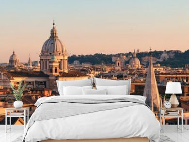 Rome Rooftop view