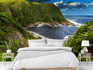 Republic of South Africa. Eastern Cape province. Tsitsikamma National Park - Storms River Mouth