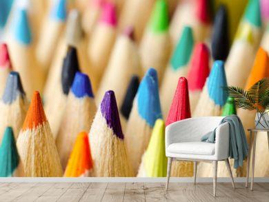 pencils macro