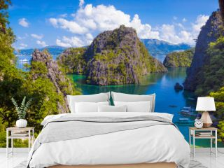 Twin Lagoon Paradise With Limestone Cliffs - Coron, Palawan - Philippines