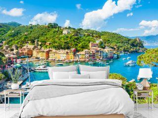 Beautiful view of Portofino, Liguria, Italy