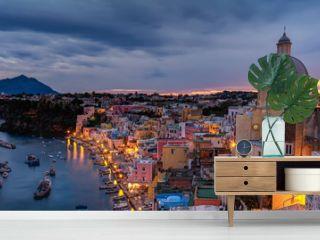Corricella Village, Island of Procida, Naples, Italy