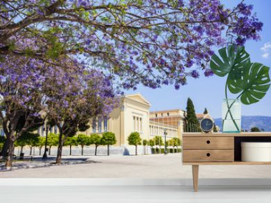 Zappeion, one of the major landmarks of Athens, Greece