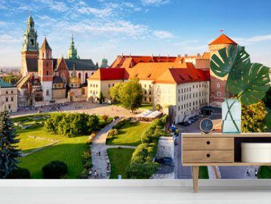 Krakow - Wawel castle at day