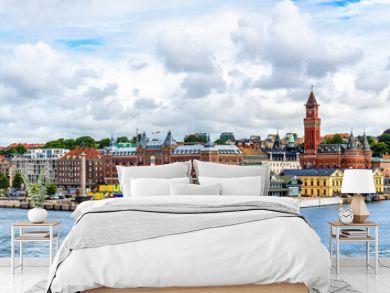 View of Helsingborg city centre - Sweden