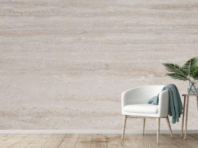 Beige travertine stone background texture for design