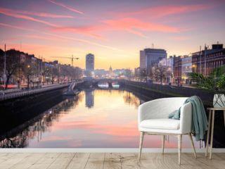 calm at Dublin riverbank, Ireland